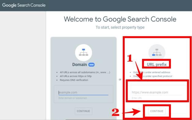 google search console site auto verify